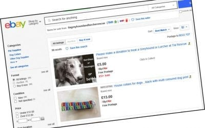 Tia Rescue eBay shop… for your greyhound essentials!